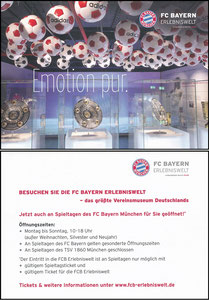 Bayern Erlebniswelt, 2013, 'Emotion Pur', Torrekord