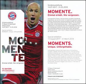 Bayern Erlebniswelt, 2017, 'Momente', Robben