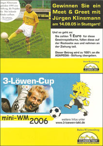 Klinsmann, 2005, 3-Löwen Cup