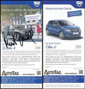 Scholl, 2017, Dacia 'Autotag'
