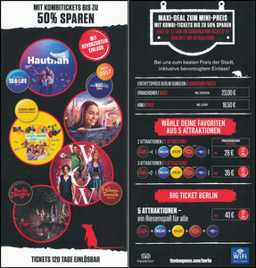 Neuer, 2017, Madame Tussauds Berlin 'Big-Ticket Berlin Kombi'