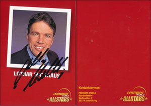 Matthäus, 2001, Premiere AllStars, rote Rückseite
