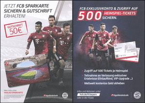 Hypovereinsbank, 2018, 'Heimspiel-Tickets'