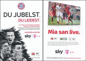 Müller, Thomas, 2015, Sky, A5 Booklet, Motiv 2