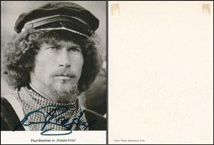 Breitner, 1976, 'Potato Fritz', Schauspieler-Karte