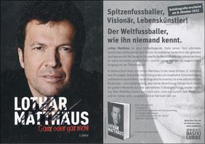 Matthäus, 2012, Buchpromotion 'Ganz oder gar nicht', Lübbe-Verlag
