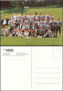 Mannschaftskarte 1993, Hierl