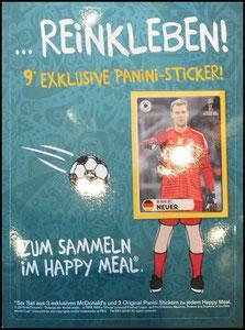 DFB, 2018, Panini-Aufkleberkarte, Neuer, Dank an SF Norbert