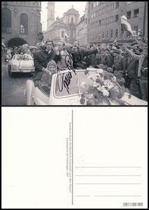 Postkarte, Fanshop, 2000er, Roth 'Europapokalsieg 1967'