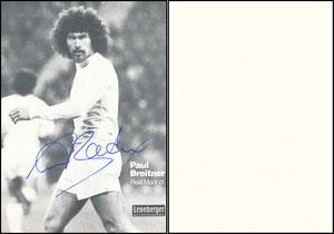 Breitner, 1977, Leonberger, mit Zudruck 'Real Madrid'
