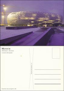 Allianz Arena, 2004, Stadionpostkarte