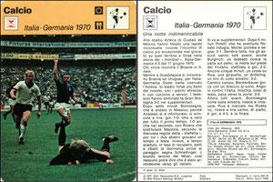 'Italien - Detuschland, 1970', Italien, 1978, 833-019, Dank an SF Hermann