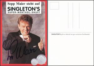 Maier, 1994, Singleton's, im Anzug, ohne Druck-AG