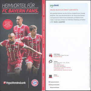 HypoVereinsbank, 2017, Booklet