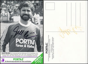 Müller, Gerd, 1982, Portas,s-w-Karte