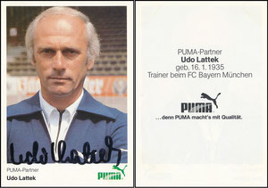 Lattek, 1983, Puma, Rückseite mit Text