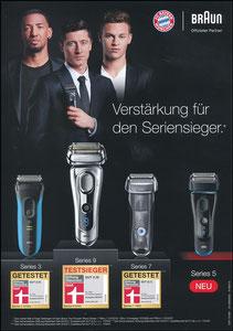 P&G, 2017, 08'2017, 'Braun Seriensieger - neu Series 5', A4