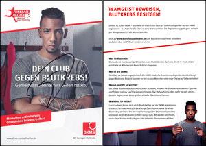 Boateng, 2015 Deutsche Knochenmarkspende, A5, signiert im April 2019