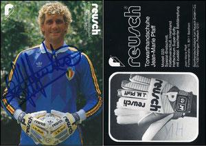 Pfaff, 1986, Reusch, belgisches Nationaldress