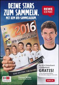 Müller, Thomas, 2016, Rewe EM-Sammelbilder, A5