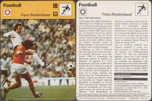 'Beckenbauer', Frankreich, 1977, 16-265 06-13