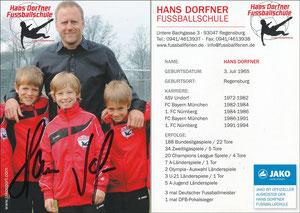 Dorfner, 2010er, 'Hans-Dorfner Fußballschule'