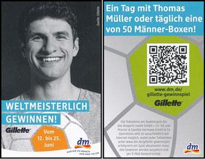 Müller, Thomas, 2014, Gillette, Regalanhänger, klein