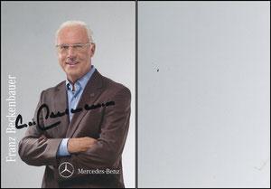 Beckenbauer, 2010, Mercedes, Motiv 1, Farbe gräulich