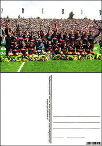 Fan Shop, Postkarte, '1997, Meisterschaft', Dank an SF Sven