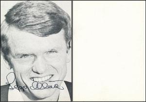 Maier, 1967, Spielerkarte, verteilt im Landratsamt Eberberg