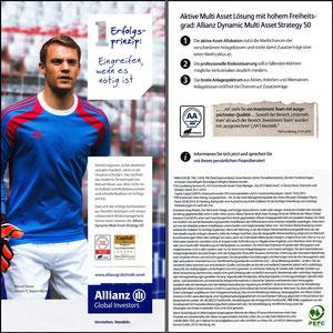 Neuer, 2014, Allianz, Flyer