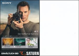 Neuer, 2018, Sony Alpha 7 'Saturn'