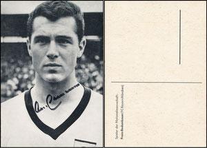 Beckenbauer, 1966, DFB-Spielerkarte