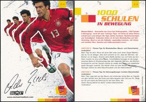 Ballack, 2005 CocaCola '1000 Schulen in Bewegung' 3-4