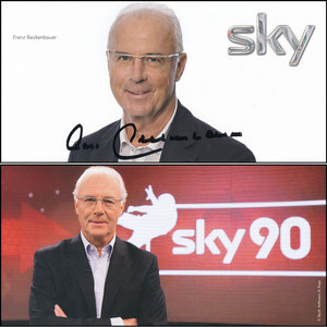 Beckenbauer, 2014, Sky