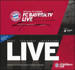 Bayern-TV, 2018, Kovac, signiert im April 2019