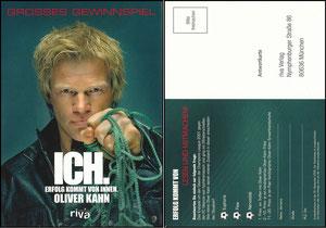Kahn, 2008, 'Ich'-Gewinnspiel zum Buch