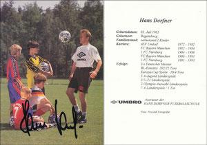 Dorfner, 1990er, 'Hans-Dorfner Fußballschule', Motiv 1