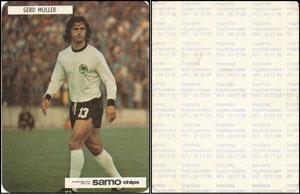 Müller, Gerd, 1972, Samo Chips, Aufkleber