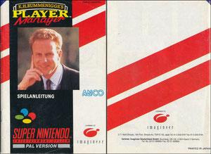Rummenigge, 1993, Nintendo Player Manager, Booklet