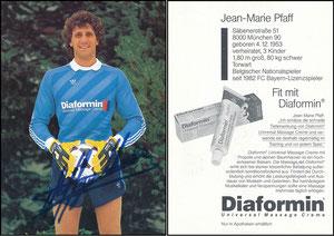 Pfaff, 1984, Diaformin, ohne Druck-AG