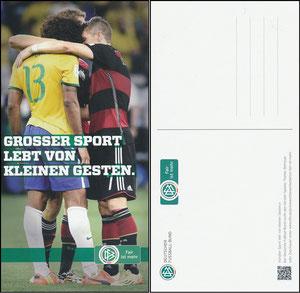 DFB, 2014, Aktion 'fairster Spielertrainer', mit Schweinsteiger