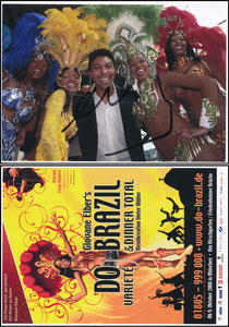Elber, 2008, 'Do Brasil Variete und Dinner'