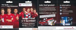 P&G, 2017, 09'2017, 'siegertypen.de', Müller, Klappkarte, signiert Müller