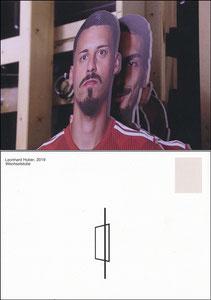 Bayern Erlebniswelt, 2019, 'Zwischen Atelier und Fußballplatz', Sonderausstellung 'Wechselstube', Motiv 1
