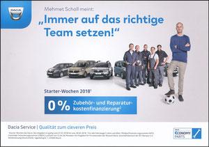 Scholl, 2018, Dacia 'Service', A4