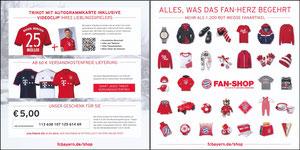 FanShop, 2015, Gutschein 'Trikot-Karten'