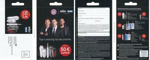 P&G, 2017, 04'2017, 'Braun '50 Eur zurück'', Klappkarte