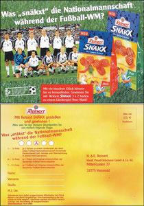 DFB, 2001, Snäck