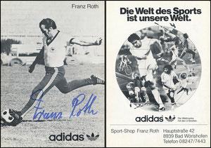 Roth, 1978, Adidas